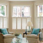 Cream shutter blinds image
