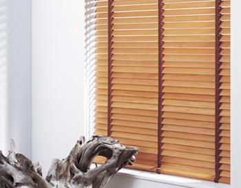 Wooden shutter blinds