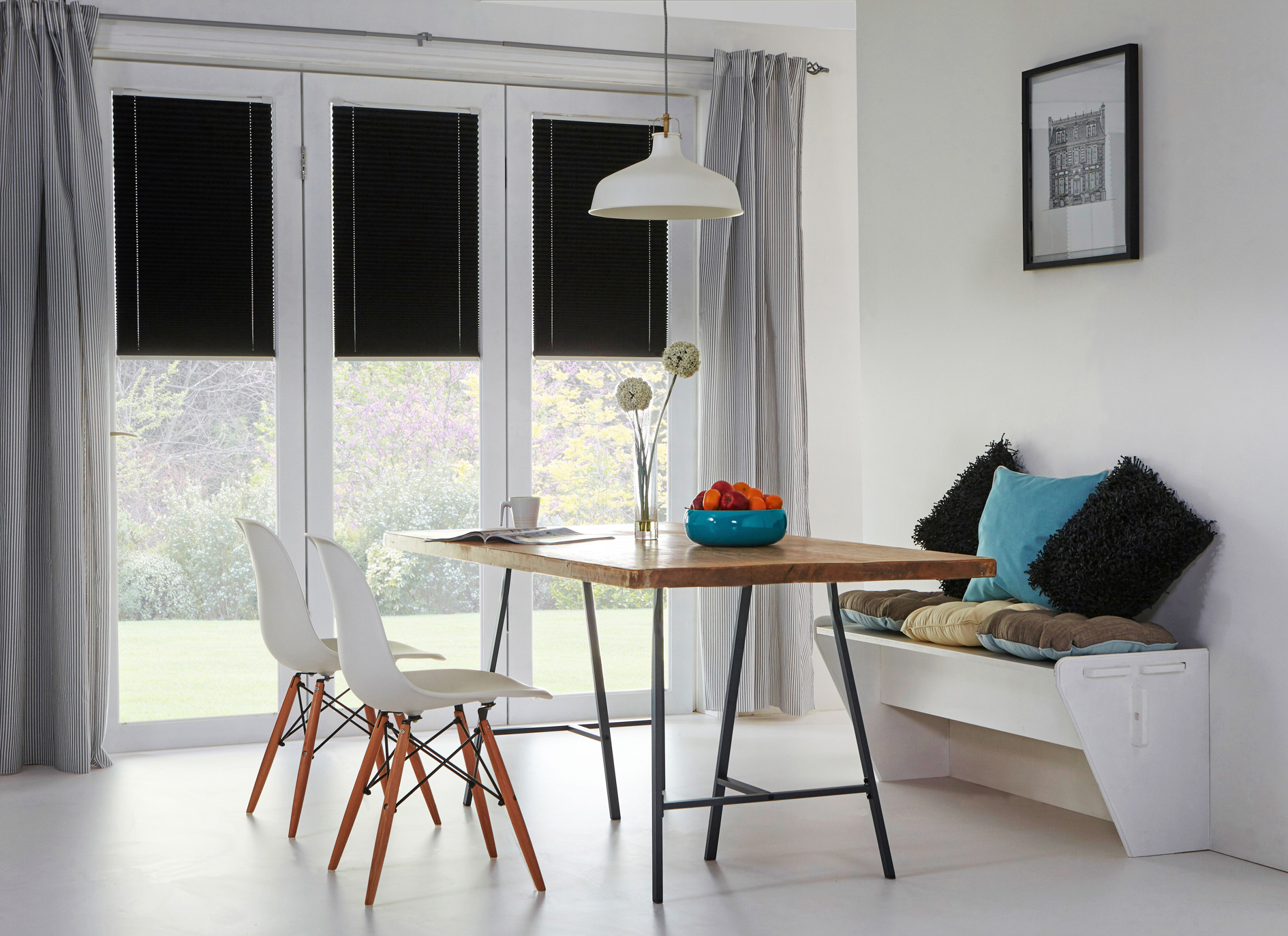 Bespoke intu blinds at Brixham blinds