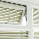 Open window - small shutter blinds
