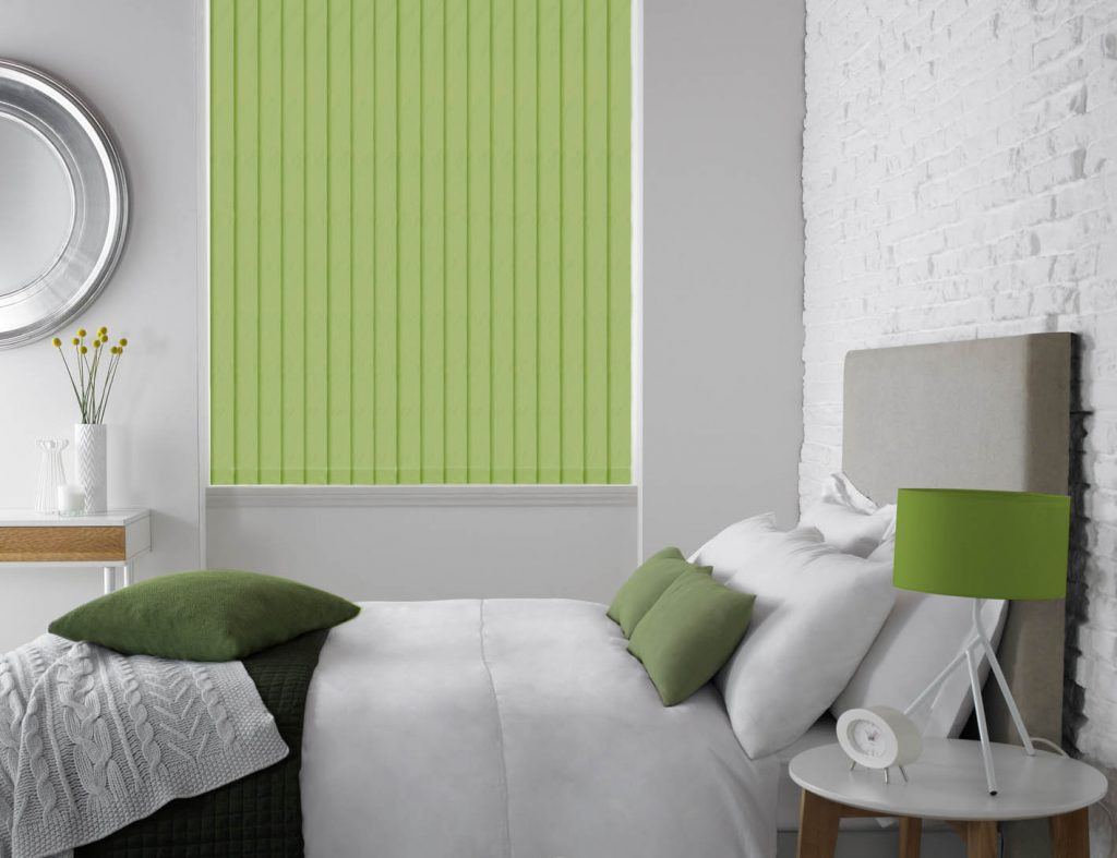 vertical blinds for the bedroom