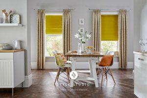 Kensington Dijon Curtain_Trinity Zest Roman (2)